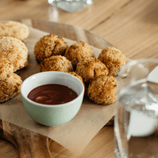 Healthy Chicken Poppers for Kids